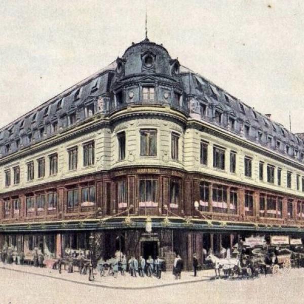 Как назывался первый большой универмаг Парижа, описанный Эмилем Золя в романе