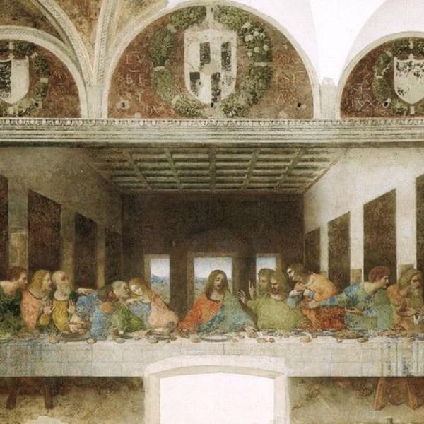 Автор монументальной росписи в доминиканском монастыре Санта-Мария-делле-Грацие «Тайная вечеря» в Милане?